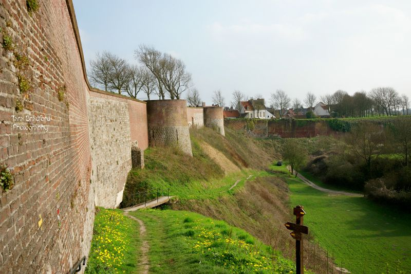 Walls around city