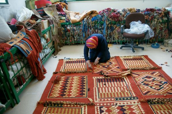 The Bani Hamida Women S Weaving Project