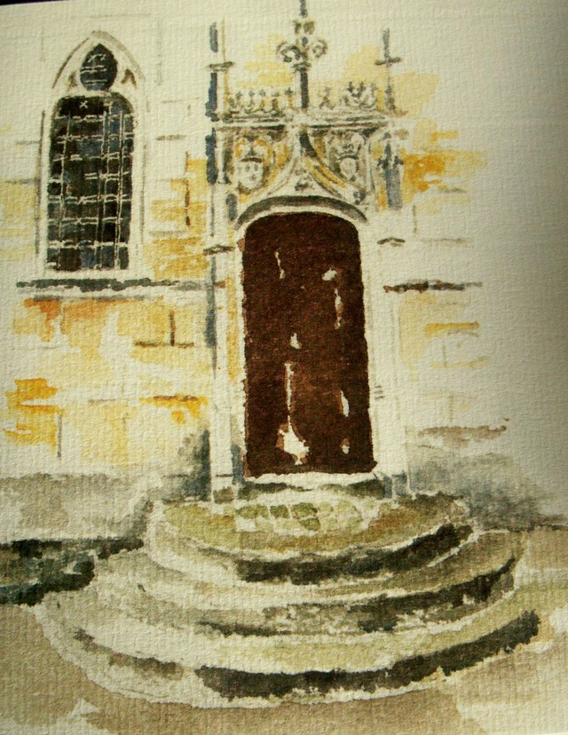 Watercolour_doorway_to_chapel