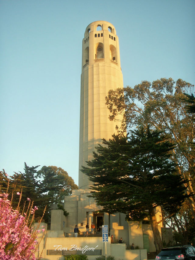 Coit_tower_at_sunset
